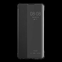 Etui a rabat Huawei P30 ViewFlip Noir 1
