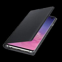 Etui a rabat LED View Samsung Galaxy S10 Noir vue 4