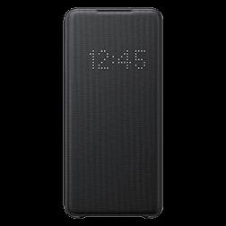 Etui a rabat Led View Samsung Galaxy S20 Plus Noir vue 1