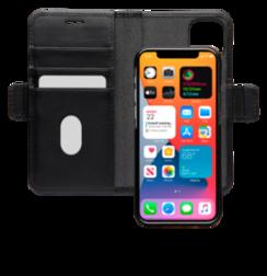 Etui à rabat Lynge pour iPhone 12 et 12 Pro