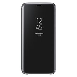 Etui Clear View pour S9 Noir Vue 1
