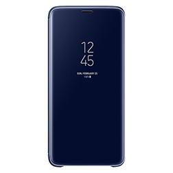 Etui Clear View pour S9 Plus Bleu Vue 1