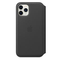 Etui folio en cuir pour iPhone 11 Pro - Noir - vue1