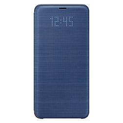 Etui Led View pour S9 Plus Bleu Vue 1