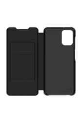 Flip Wallet Samsung Galaxy A02S Noir