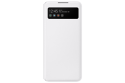 Folio Sview Samsung Galaxy A42 5G Blanc