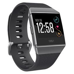 Montre Fitbit Ionic Gris Graphite vue 1
