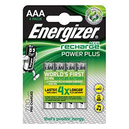 Pack 4 Piles Power Plus Enirgizer