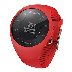Polar m200 rouge face