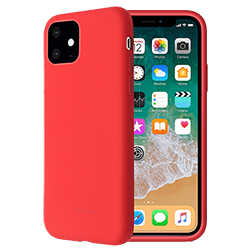 Vue 1 Coque Smoothie IP XR2 Rouge