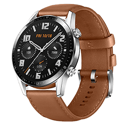 Vue 1 Huawei Watch GT2 46mm Marron