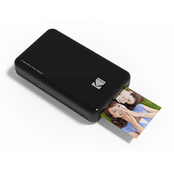 Vue 1 Imprimante Kodak Mini 2 noir