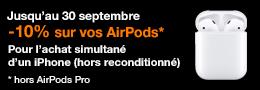 AirPods 30 septembre