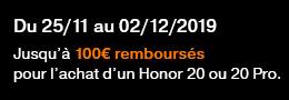 coupon ODR Honor 20 et 20 PRO