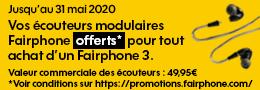 Fairphone 3 promo Sosh