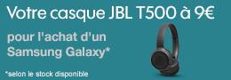Vignette JBL T500 Samsung Galaxy Sosh