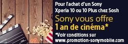 Sony_1 an de ciné offert_Sosh