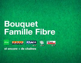 bouquet Famille Fibre (incluant FAMILLE by CANAL)