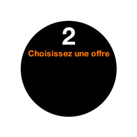 Etape 2 Choisir une offre Orange