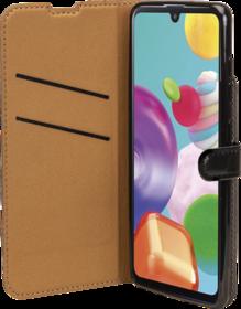 Etui à Rabat Wallet Noir pour Samsung Galaxy A41