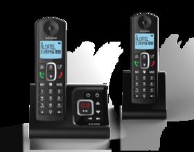 Alcatel F685 Duo Noir avec répondeur