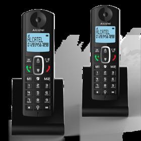 Alcatel F685 Duo Noir