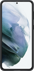 Coque Silicone pour Samsung Galaxy S21 Plus Noire