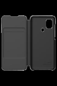 Etui à rabat Noir pour Samsung Galaxy A21S