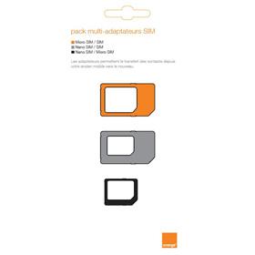 Pack multi-adaptateur SIM