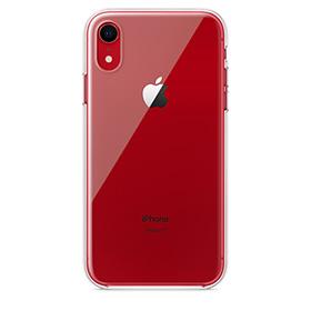 Coque Apple iPhone XR transparente