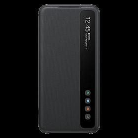 Etui Clear View Samsung Galaxy S20 Noir