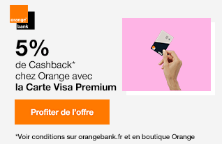 Orange Bank Cash Back