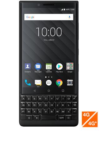 BlackBerry KEY2 noir - vue 1