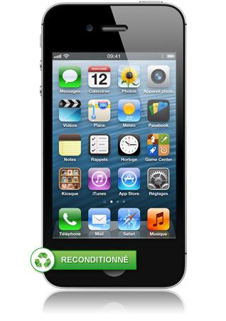 iphone 4s 16go noir reconditionn puce a5 bicoeur appareil photo 8 m gapixels. Black Bedroom Furniture Sets. Home Design Ideas