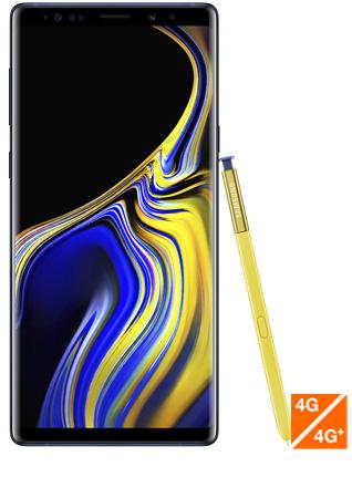 Galaxu Note 9 bleu cobalt - Vue 1