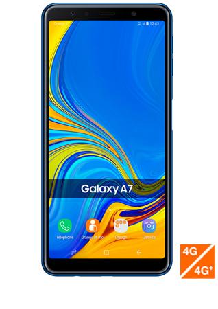 Galaxy A7 2018 vue 1