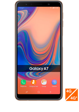 Galaxy A7 or vue 1