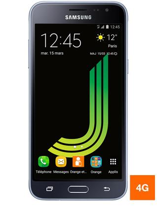 Samsung Galaxy J3 2016 noir