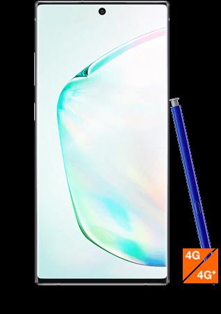 Galaxy Note 10 plus argent- Vue 1