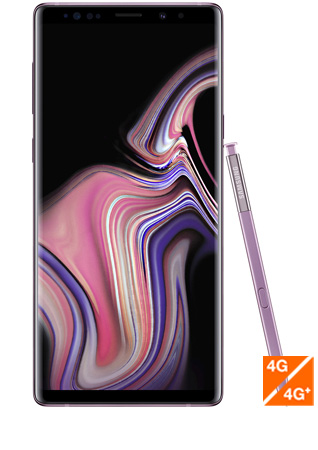 Galaxy Note 9 mauve orchidee - Vue 1