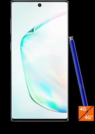 Galaxy Note10 argent stellaire- vue 1