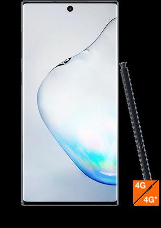 Galaxy Note10 noir - Vue 1
