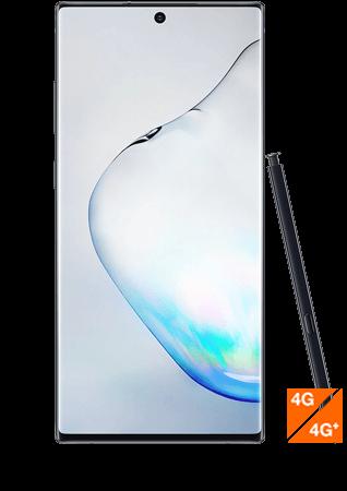 Galaxy Note10 plus noir - vue 1