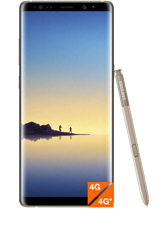 Galaxy Note8 or topaze vue 1