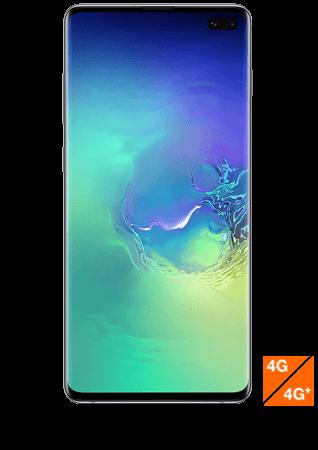 Galaxy S10 Plus vert prisme vue 1