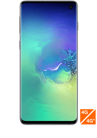 Galaxy S10 vert prisme vue 1