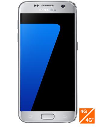 Galaxy S7 argent vue 1