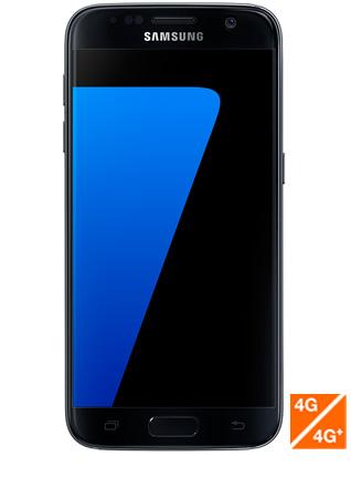 Galaxy S7 noir vue 1