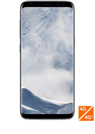 Galaxy S8 Plus argent vue 1