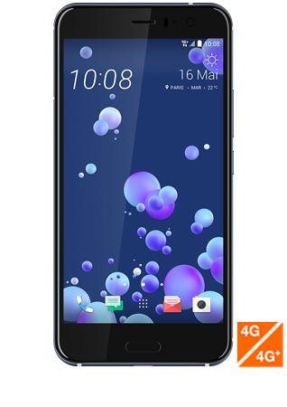 HTC U11 argent - vue 1